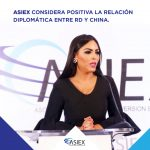 ASIEX considera positiva la relación diplomática entre RD y China.